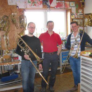 Jonas Burow Und Felix Eckert Aus Hamburg Zu Besuch