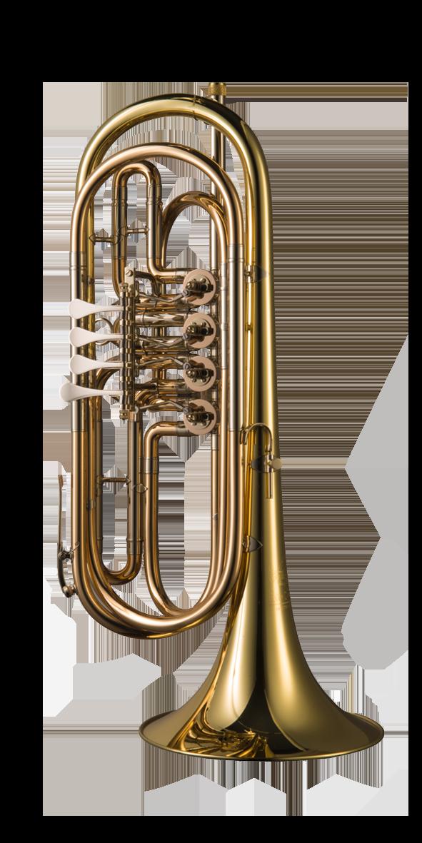 B-Basstrompete 4-Ventilig