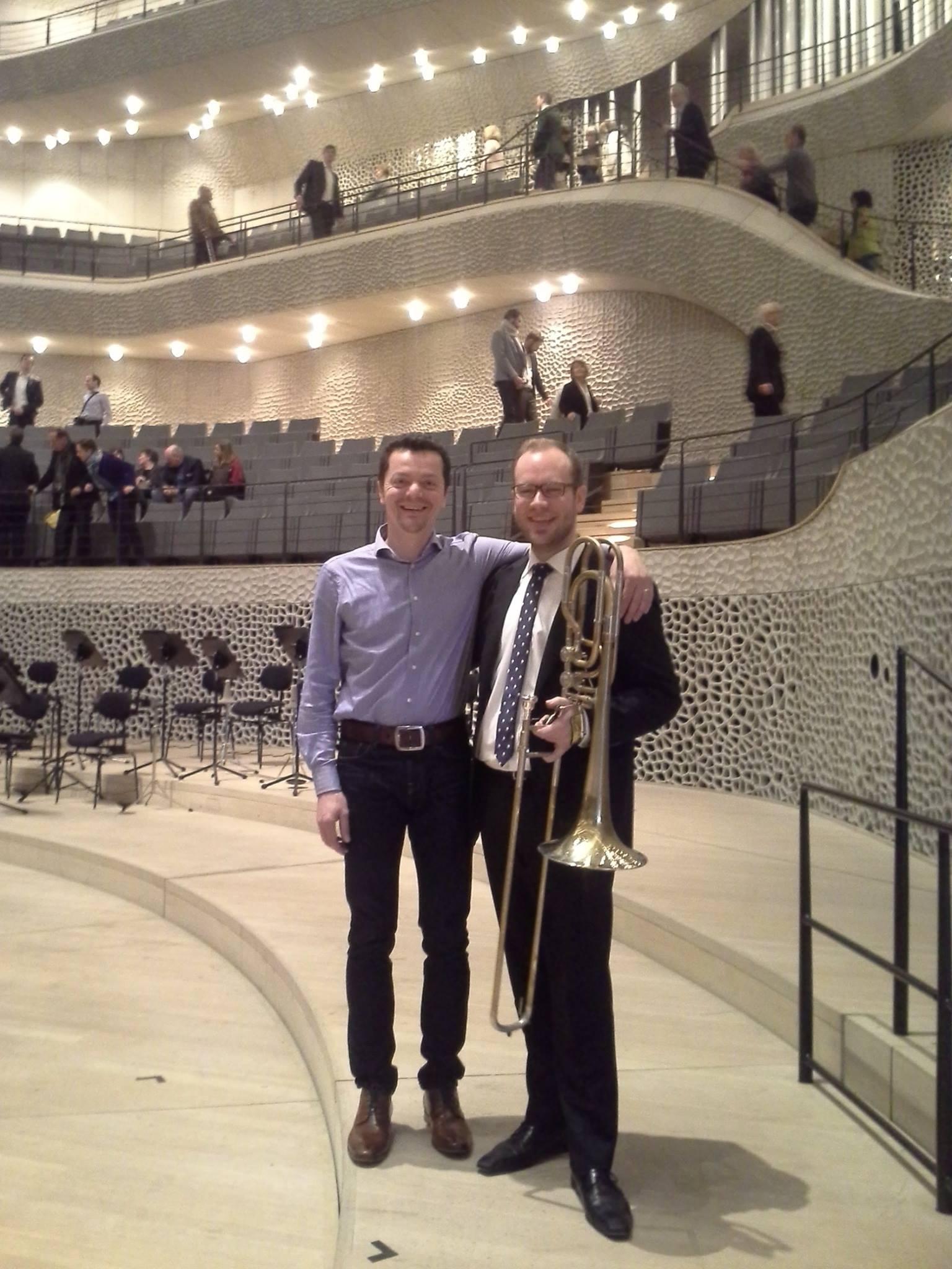 Bassposaune J5 Erklingt In Der Elbphilharmonie
