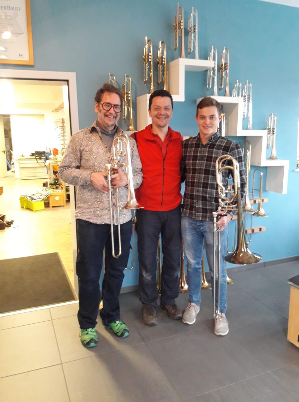 Berliner Musiker Mit Neuen Instrumenten