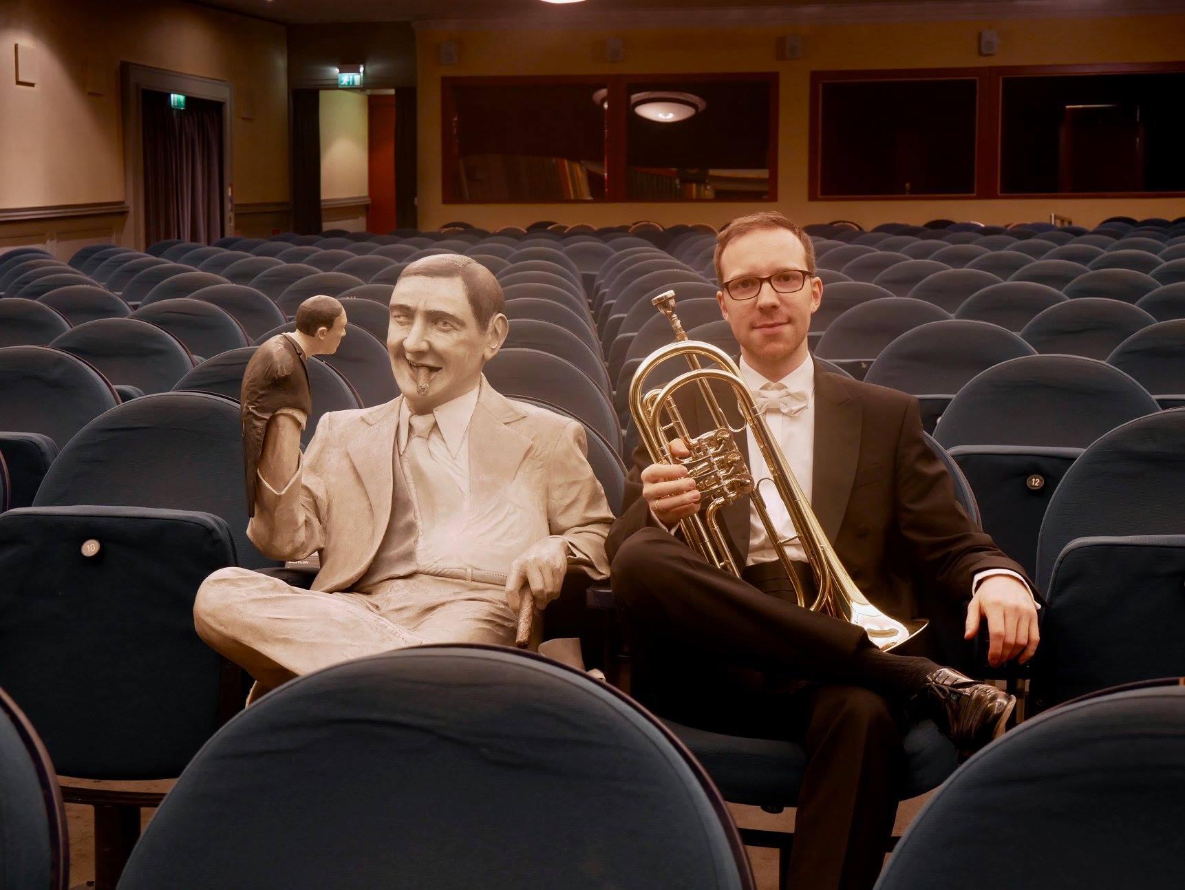 Sören Fries Mit Unserer Basstrompete In B