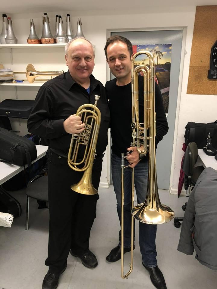 Hans-Reiner Schmidt Mit Unserer Basstrompete In C